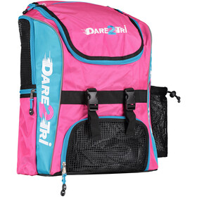 Dare2Tri Transition Rugzak 33L, pink/blue